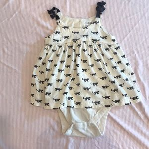 SALE 5/$20! Baby Gap Dress with Onesie, 18-24M
